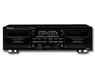 Pioneer Cassette Deck! mag uiteraard ook van ander merk zijn...